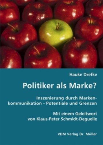 9783836439374: Politiker als Marke?