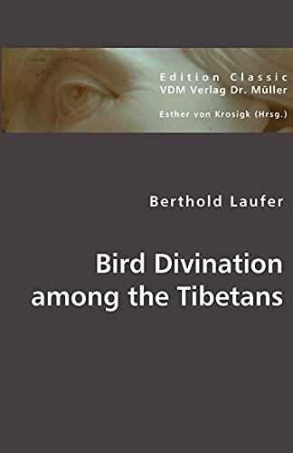 9783836440318: Bird Divination among the Tibetans
