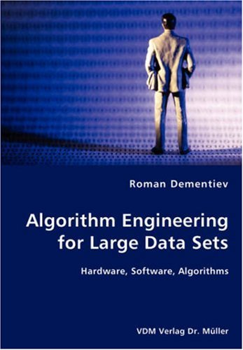 9783836447416: Algorithm Engineering for Large Data Sets