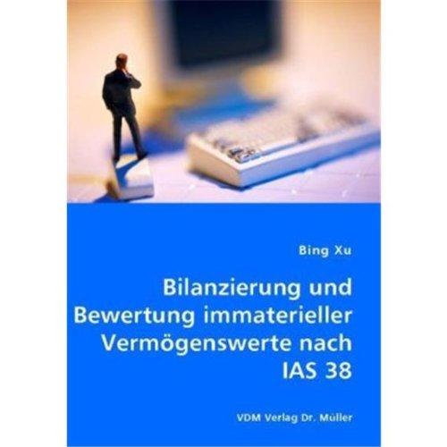 9783836451444: Bilanzierung und Bewertung immaterieller Verm�genswerte nach IAS 38