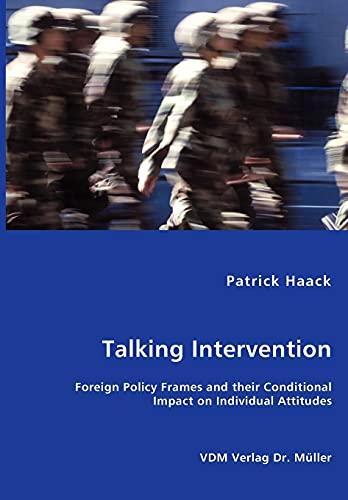 9783836454988: Talking Intervention