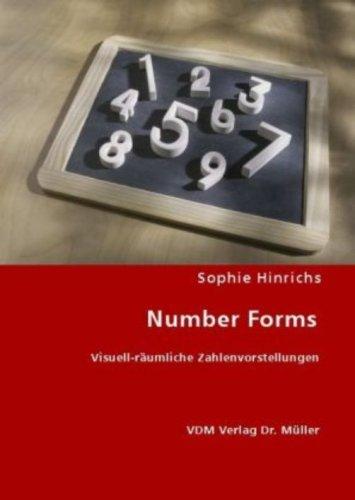 9783836464635: Number Forms: Visuell-räumliche Zahlenvorstellungen