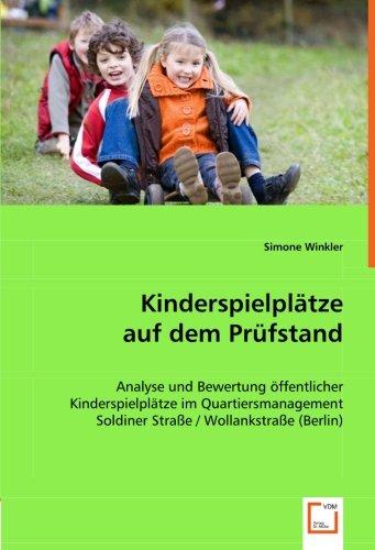 Kinderspielplätze auf dem Prüfstand: Simone Winkler