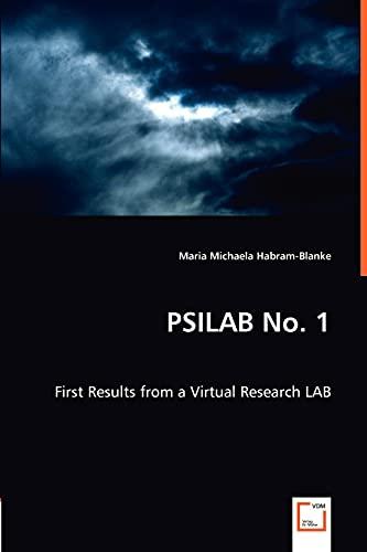 Psilab No. 1 (Paperback): Maria Michaela Habram-Blanke