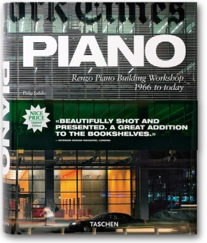 9783836503235: Piano - Renzo Piano Building Workshop 1966 to today (Jumbo)