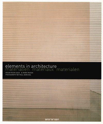 9783836503402: Mat�riaux : Edition fran�ais-allemand-n�erlandais (Elements in architecture)