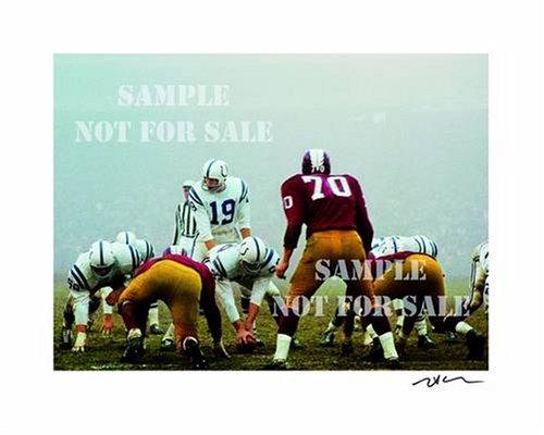 Neil Leifer, Golden Age of American Football: Art Edition a (Unitas): Wiener, Nina (Editor)