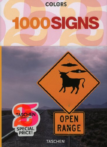 9783836510011: 1000 signs (Tachen 25th Anniversary)