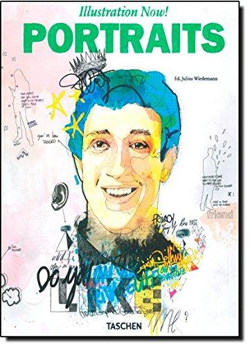 9783836524261: Illustration now! Portraits. Ediz. italiana, spagnola e portoghese