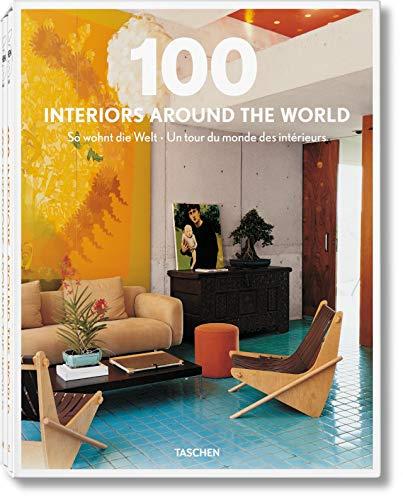 100 Interiors around the world. So wohnt die Welt. Un tour du monde des interieurs. 2 Bände. - Mayer, Margit J. (Consulting Editor) und Stephanie Paas (Project Management)