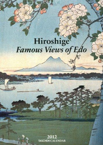 9783836530149: Hiroshige 2012 Calendar