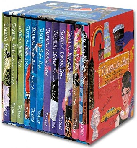 9783836531795: TASCHEN 4 Cities box : Paris, London, Berlin & New-York