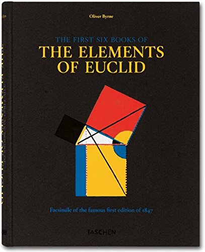 9783836544719: The first six books of the Elements of Euclid, in which coloured diagrams and symbols are used instead of letters for the greater ease of learners