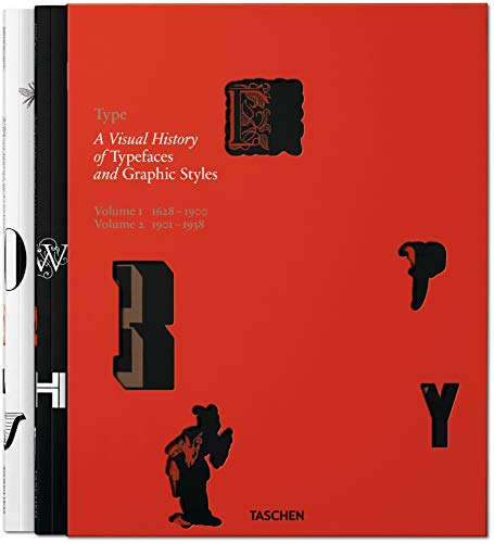 9783836544801: Type: A Visual History of Typefaces & Graphic Styles