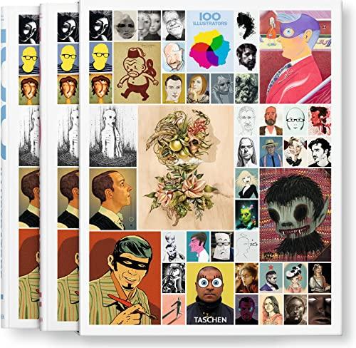 100 Illustrators, 2 Vol.