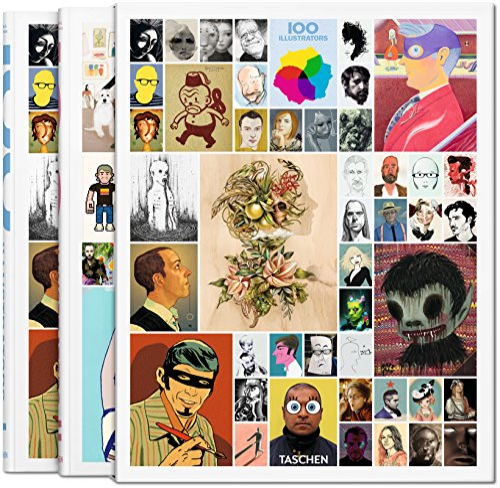 9783836545228: 100 illustrators : Coffret en 2 volumes
