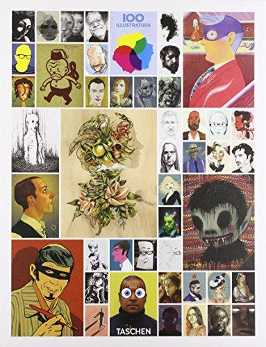 9783836545235: 100 illustrators. Ediz. italiana, spagnola e portoghese