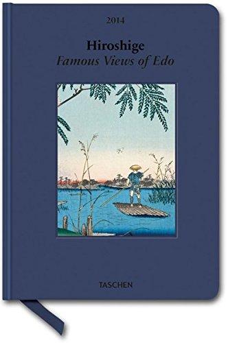 9783836546065: Hiroshige. Famous Views of Edo 2014 (Taschen Small Clothbound Diary)