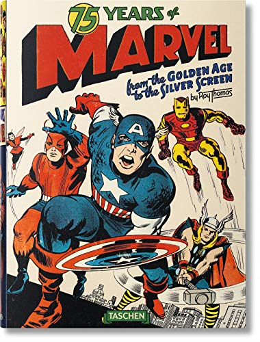 [signed] 75 Years of Marvel Comics: From the Golden Age to the Silver Screen - SIGNED 2X 1st Edition/1st Printing