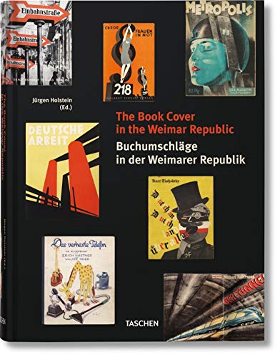 9783836549806: The Book Cover in the Weimar Republic
