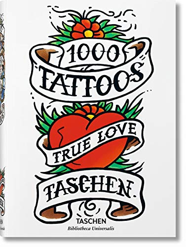 1000 Tattoos (Bibliotheca Universalis) (Multilingual, French and