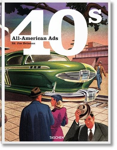 9783836551311: All-American Ads of the 40s