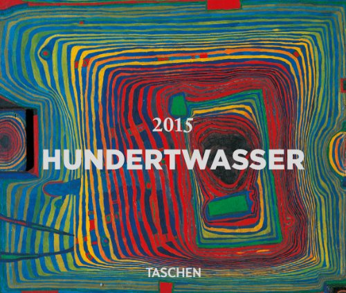9783836552554: Ephéméride Hundertwasser 2015 : Bloc-notes sur support plastique (Tear Off Calendars 2015)