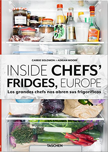 9783836553551: INSIDE CHEFS FRIDGES EUROPE-GRANDES CHEFS-ESPA�OL