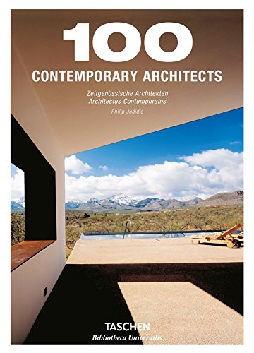 9783836557207: 100 Contemporary Architects