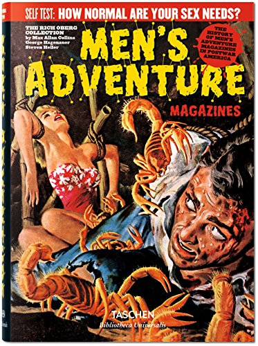 9783836559379: Men's Adventure Magazines in Postwar America (English, German and French Edition)