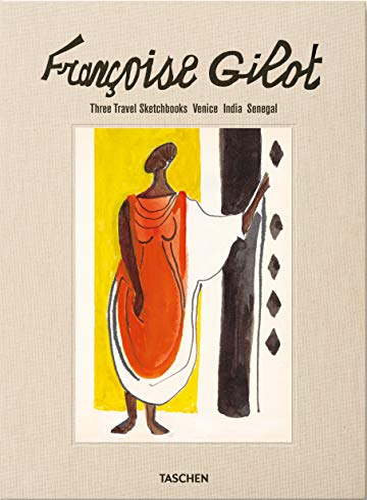 9783836564069: Françoise Gilot: Three Travel Sketchbooks: Venice, India, Senegal