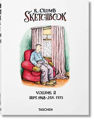 9783836566940: Robert Crumb. Sketchbook. Vol. 2: 1968–1975: VA (Varia)