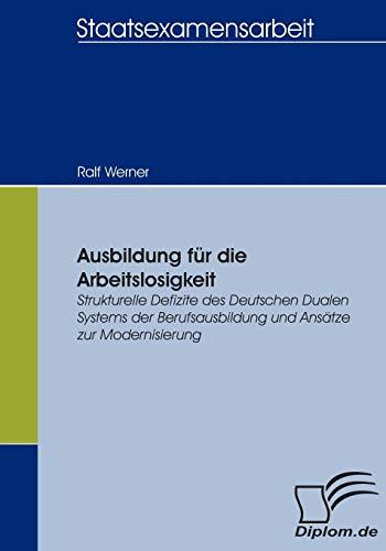 Ausbildung Fur Die Arbeitslosigkeit: Ralf Werner