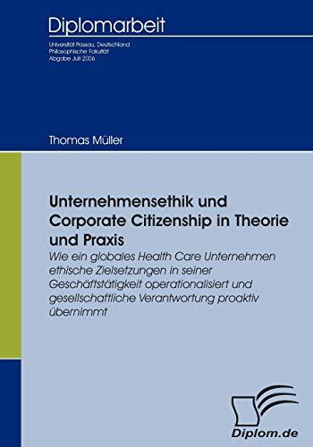 Unternehmensethik Und Corporate Citizenship: Thomas Muller