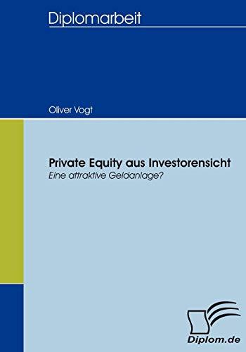 Private Equity aus Investorensicht: Oliver Vogt
