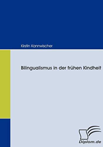 9783836664974: Bilingualismus in der frühen Kindheit (German Edition)