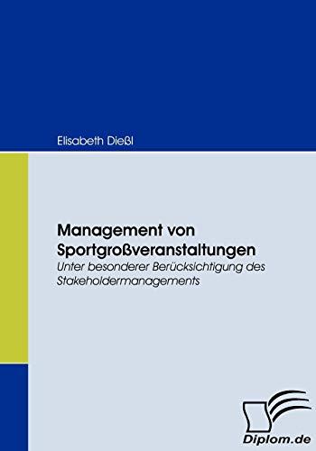 Management Von Sportgro Veranstaltungen: Elisabeth Die L