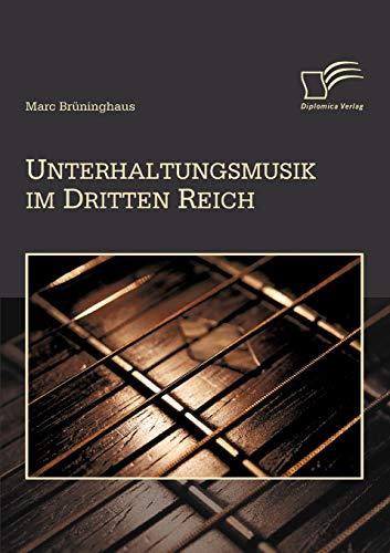 9783836688130: Unterhaltungsmusik im Dritten Reich