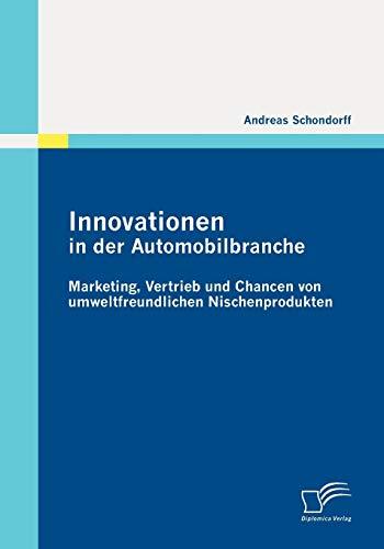 9783836689816: Innovationen in der Automobilbranche