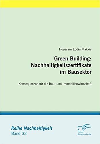 9783836691338: Green Building: Nachhaltigkeitszertifikate im Bausektor