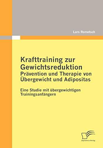 9783836697842: Krafttraining zur Gewichtsreduktion: Prävention und Therapie von Übergewicht und Adipositas