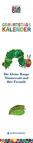 Die kleine Raupe Nimmersatt. Geburtstagskalender (3836927144) by Eric Carle