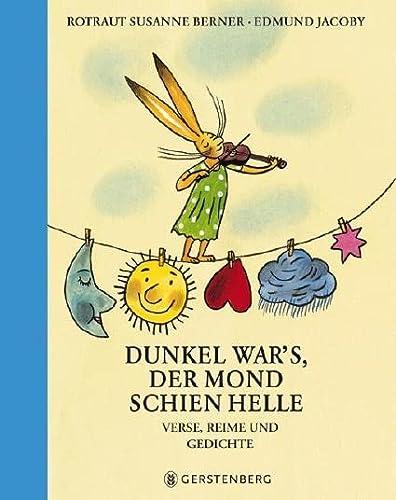 9783836942850 Dunkel Wars Der Mond Schien Helle Verse