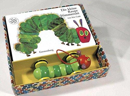 9783836950602: Die kleine Raupe Nimmersatt. Pappbilderbuch und Holzspielzeug: Das besondere Spielbilderbuch