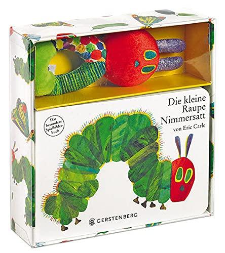 Die kleine Raupe Nimmersatt: Pappbilderbuch mit Stoffrassel: Eric Carle