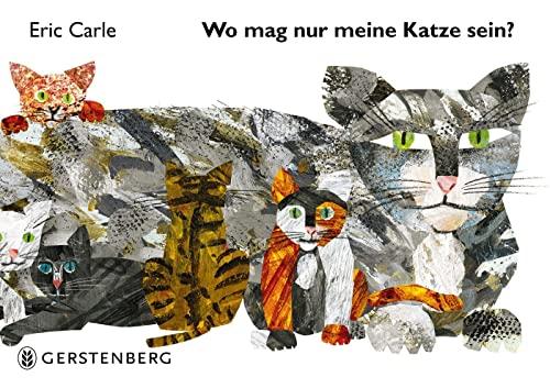 9783836958325: Wo mag nur meine Katze sein?