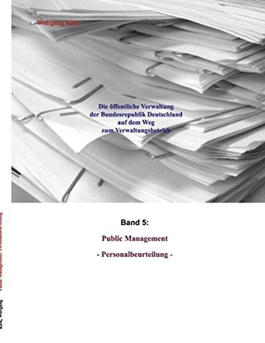 9783837015010: Public Management: Personalbeurteilung