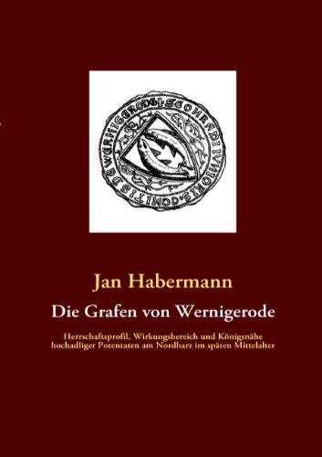 9783837028201: Die Grafen von Wernigerode