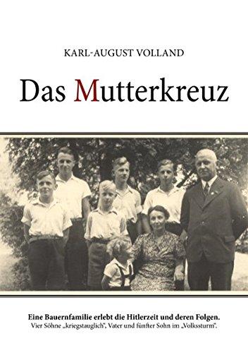 9783837031850: Das Mutterkreuz (German Edition)