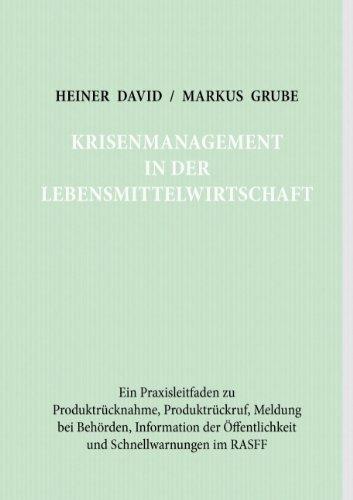 9783837032383: Krisenmanagement in der Lebensmittelwirtschaft